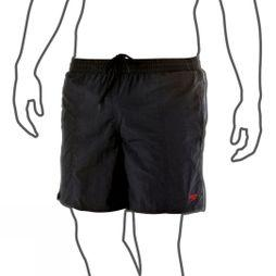 Speedo Mens Solid Leisure 16in Watershorts Black