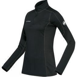 Women's Go Warm Zip Long Sleeve Top
