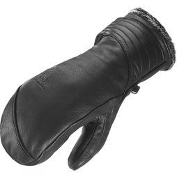 Salomon Womens Native Mitt Black / Grey Lining