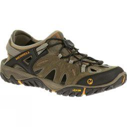 Merrell Mens All Out Blaze Sieve Sandal Brindle/Butterscotch