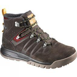 Salomon Mens Utility TS CSWP Boot Trophy Brown Ltr/Absolute Brown-X/Sunny-X