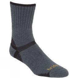 Bridgedale Mens Merino Hiker Sock Gunmetal/Black
