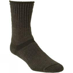 Bridgedale Mens Merino Hiker Sock Olive/Dark Green