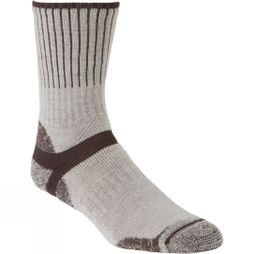 Bridgedale Mens Merino Hiker Sock Oatmeal/Coffee