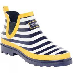 Regatta Womens Harper Welly Navy / Lemon Tea