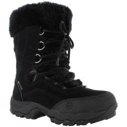 Hi-Tec Womens St. Moritz 200 WP II Snow Boot Black/Clover