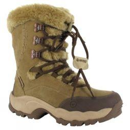 Hi-Tec Womens St. Moritz 200 WP II Snow Boot Brown/Cream