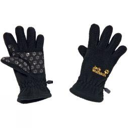 Jack Wolfskin Kids Fleece Gloves Black
