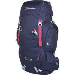 Berghaus Womens Trailhead 60 Rucksack Evening Blue/Dark Cerise