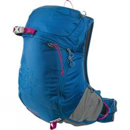 Bergans Womens Istinden 26L Rucksack Light Sea Blue/Hot Pink/Solid Light Grey