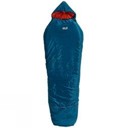 Jack Wolfskin Grow Up Kids Comfort Sleeping Bag Moroccan Blue