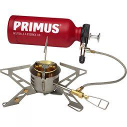 Primus OmniFuel Stove with Fuel Bottle .