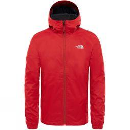 The North Face Mens Quest Jacket TNF Red/White