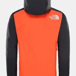 The North Face Mens Stratos Jacket Acrylic Orange/TNF Black/Picante Red