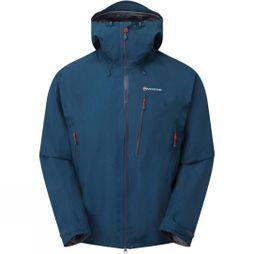 Montane Mens Alpine Pro Jacket Narwhal Blue/Alpine Red