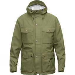 Fjallraven Mens Övik Eco-Shell Jacket Green