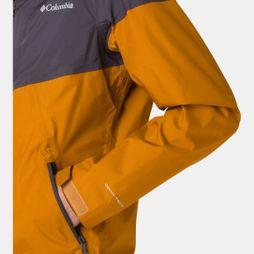Columbia Mens Inner Limits Jacket Burnished Amber/Shark