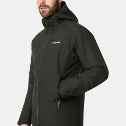 Berghaus Mens Ridgemaster Gemini 3in1 Jacket Jet Black/Grey Pinstripe