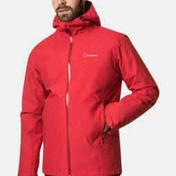 Berghaus Mens Ridgemaster Gemini 3in1 Jacket Haute Red/Deep Water