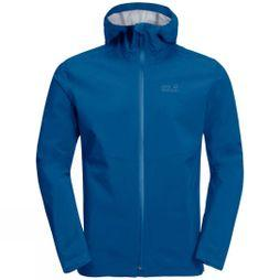 Jack Wolfskin Mens JWP Shell ELECTRIC BLUE
