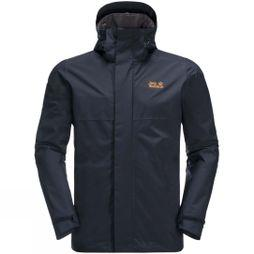 Jack Wolfskin Mens Cragside Jacket Night Blue