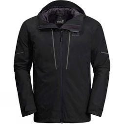Jack Wolfskin Mens Skei Trail Jacket Black