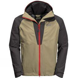 Jack Wolfskin Mens Apex Summer Peak Jacket Sandstone