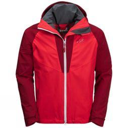Jack Wolfskin Mens Apex Summer Peak Jacket Peak Red