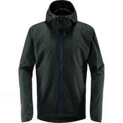 Haglofs Mens Särna Shield Hood Jacket Mineral