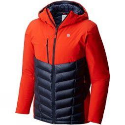 Mountain Hardwear Mens Supercharger Insulated Jacket Fiery Red