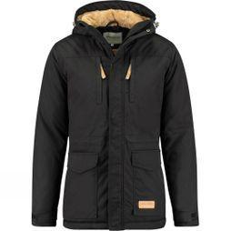 Ayacucho Mens Highland Winter Parka Black