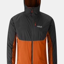 Rab Mens Alpha Direct Jacket Beluga / Oxide / Oxide