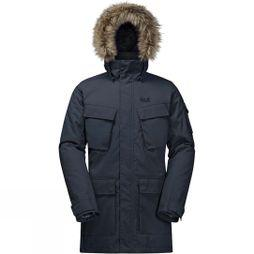 Jack Wolfskin Mens Glacier Canyon Parka Night Blue