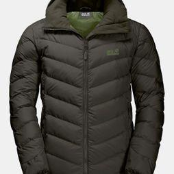 Jack Wolfskin Mens Fairmont Jacket Dark Moss