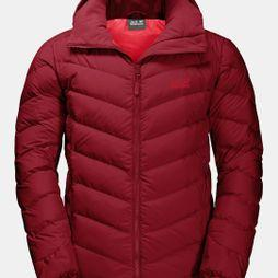 Jack Wolfskin Mens Fairmont Jacket Dark Lacquer Red