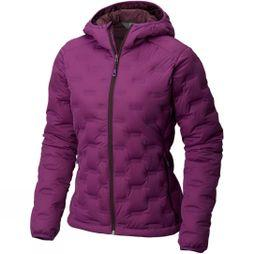 Mountain Hardwear Womens StretchDown DS Hooded Jacket Cosmos Purple