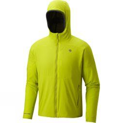 Mountain Hardwear Mens ATherm Hooded Jacket Fresh Bud