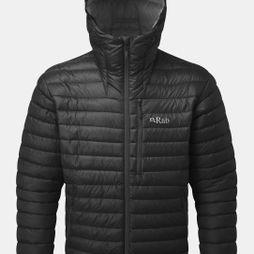 Rab Mens Microlight Alpine Jacket 2018 Black/ Shark