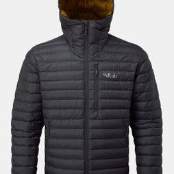 Rab Mens Microlight Alpine Jacket Beluga/Dijon