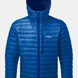 Rab Mens Microlight Alpine Jacket Celestial/ Deep Ink