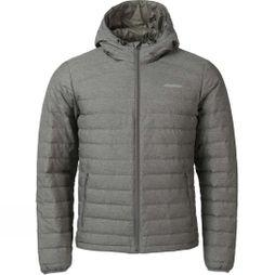 Ayacucho Mens Himalaya Down Hooded Jacket Denim Beluga