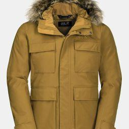 Jack Wolfskin Point Barrow Jacket Golden Amber