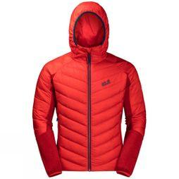 Jack Wolfskin Mens Stratosphere Jacket Fiery Red