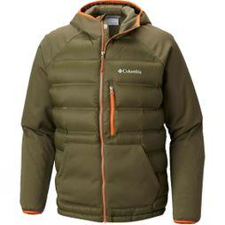 Mens Ramble Down Hybrid Hooded Jacket