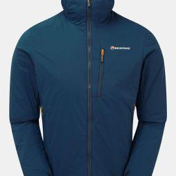 Montane Mens Fireball Jacket Narwhal Blue/Alpine Red