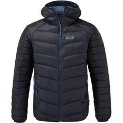 Jack Wolfskin Mens Oaksey Jacket Night Blue/Indigo Blue