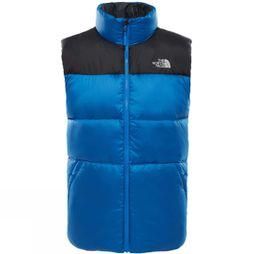 The North Face Mens Nuptse III Vest Turkish Sea/ TNF Black