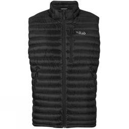 Rab Mens Microlight Vest Black/Shark