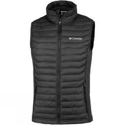 Columbia Mens Powder Pass Vest Black