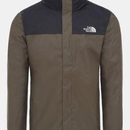 The North Face Mens Evolve II Triclimate Jacket New Taupe Green/British Khaki